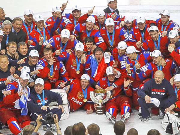 Russia ice hockey champion 2012